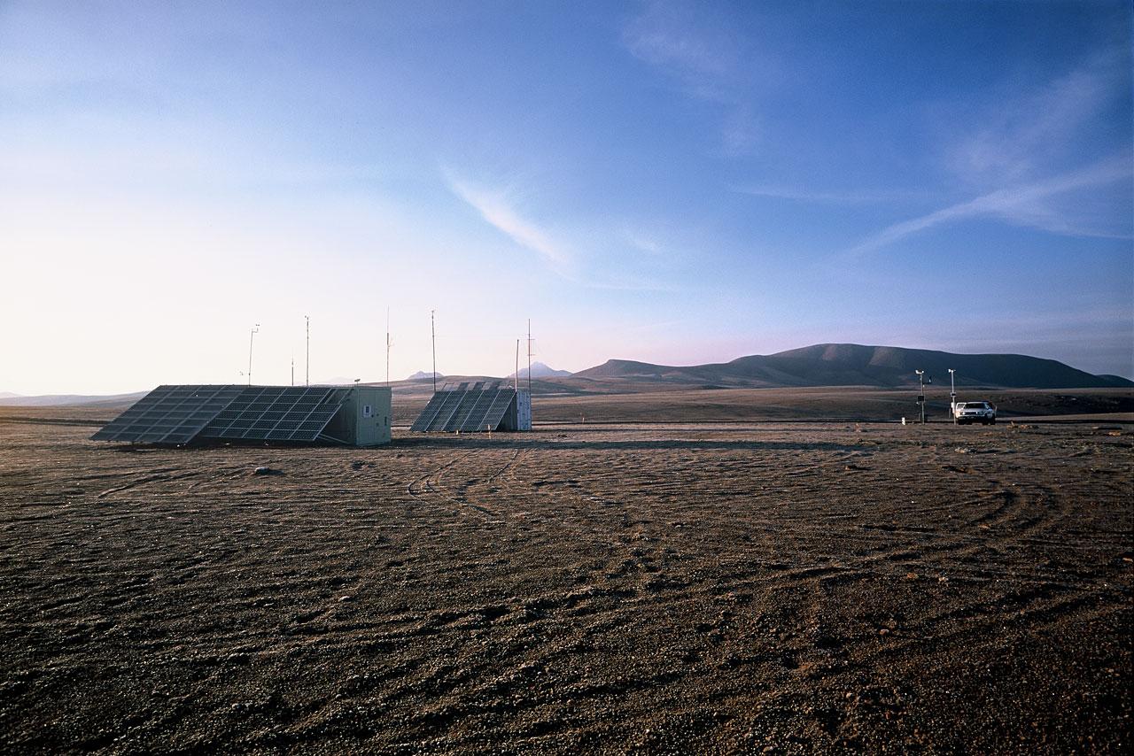 ESO-NRAO Site Testing Area