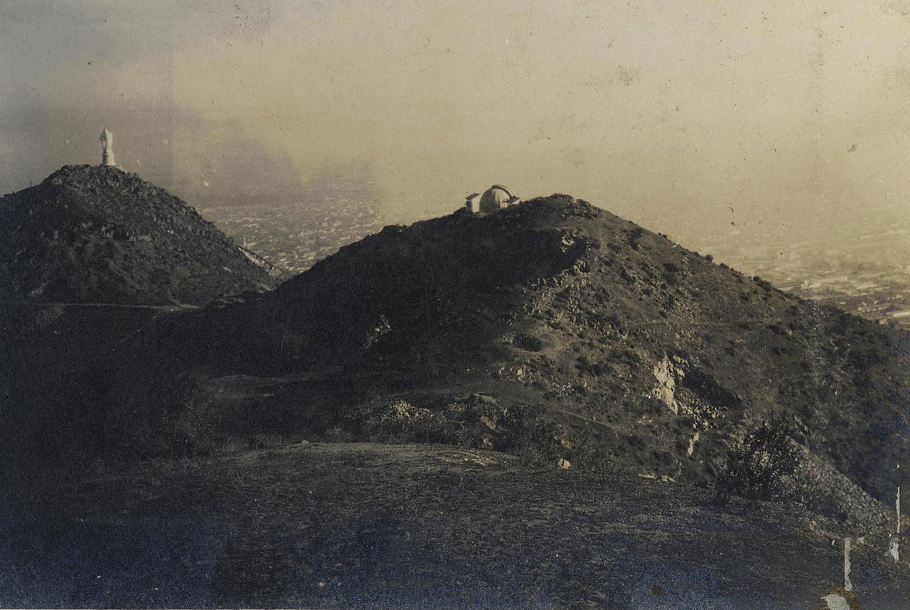 Historical picture of the Observatory Manuel Foster