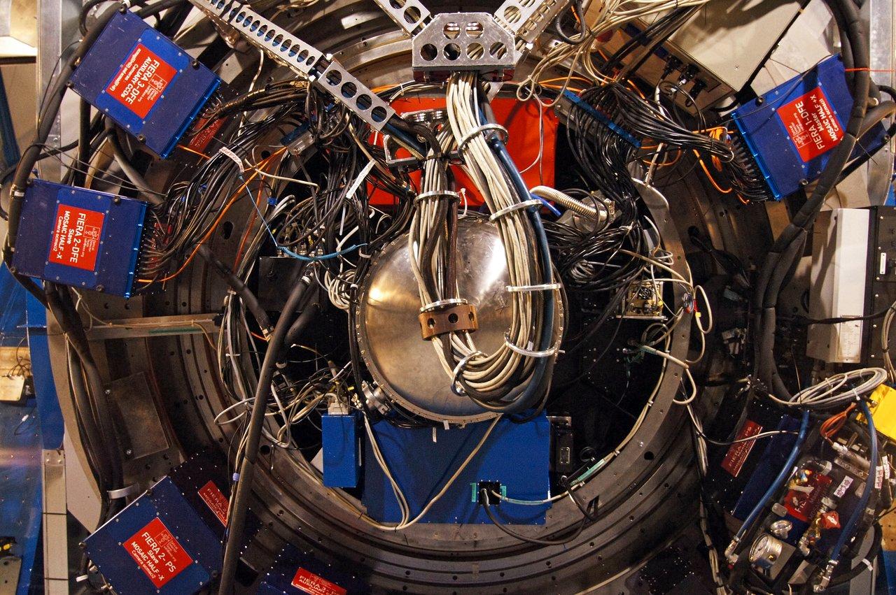 VLT Unit Telescope Underbelly