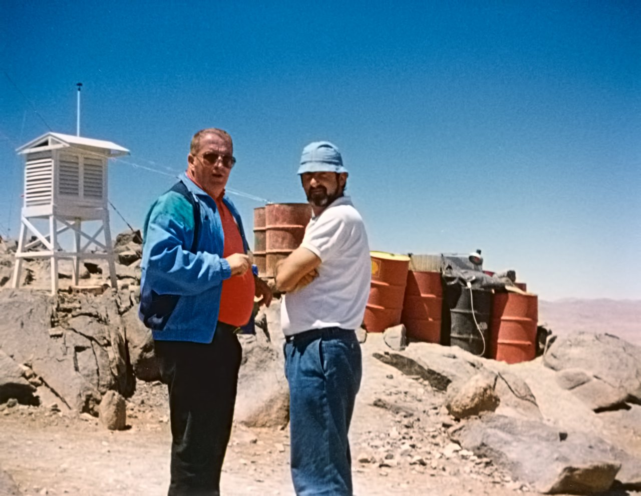Site testing for the VLT on Cerro Armazones