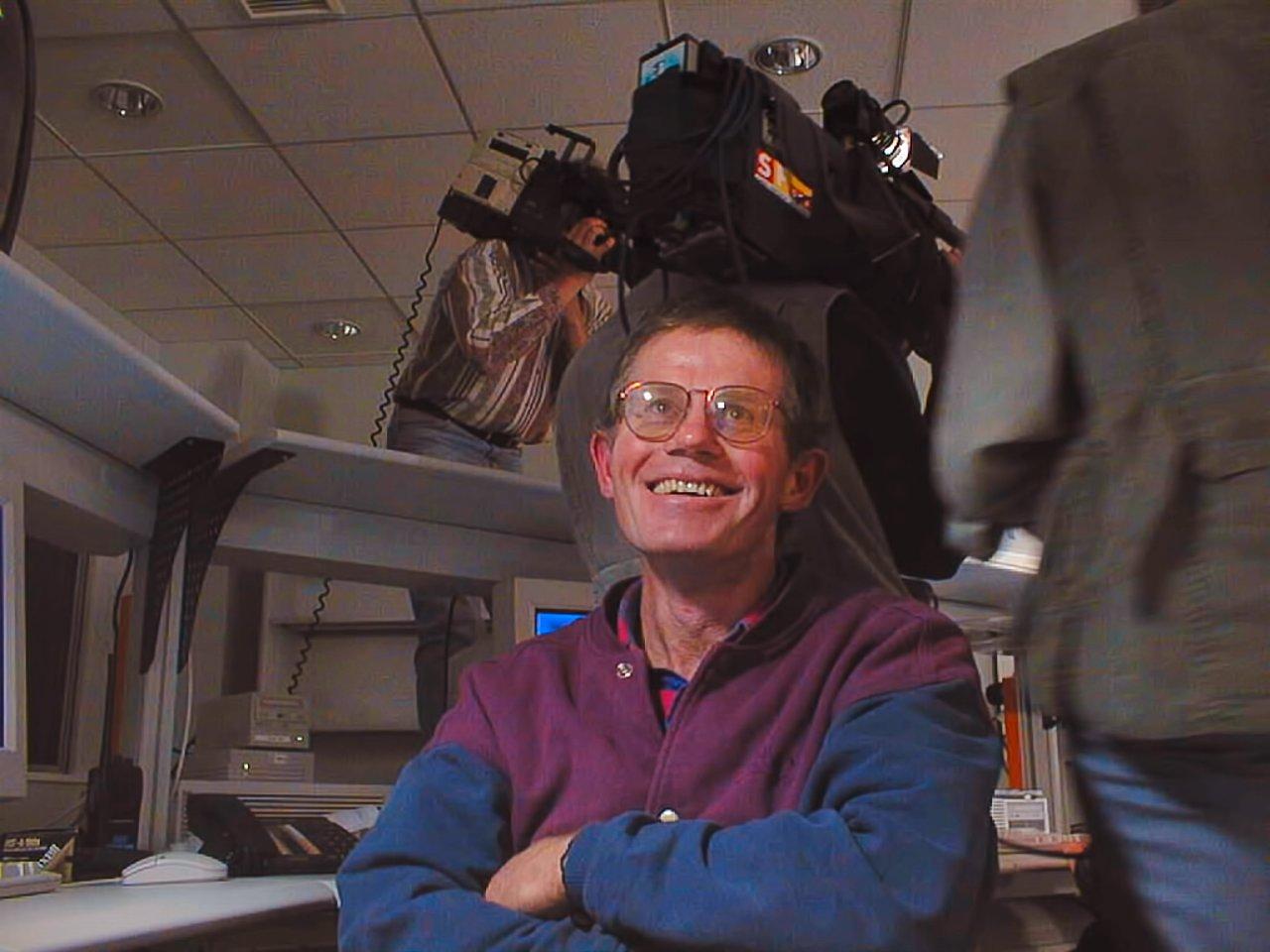 Peter Gray at UT1 first light