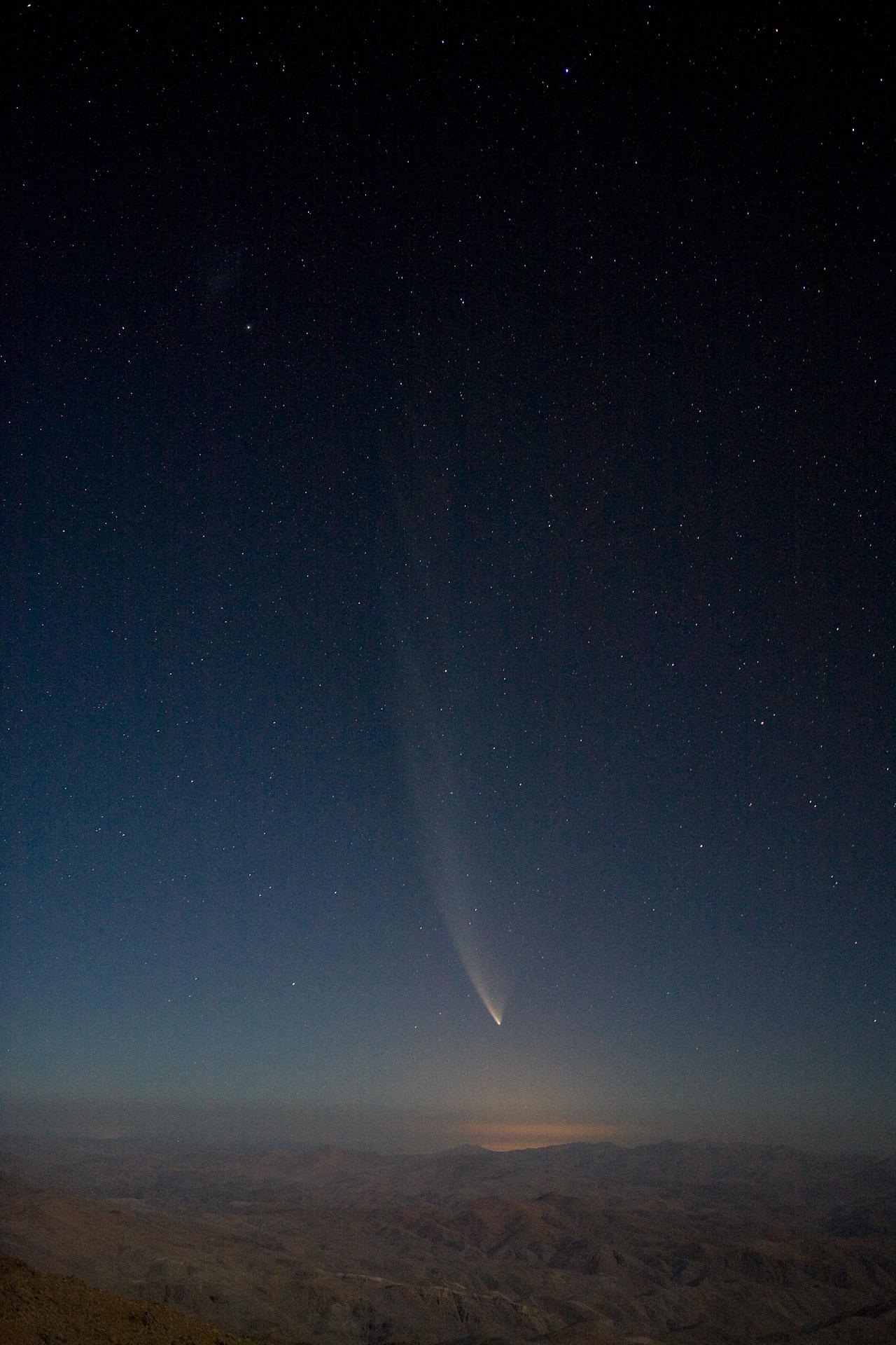 Comet McNaught over La Silla