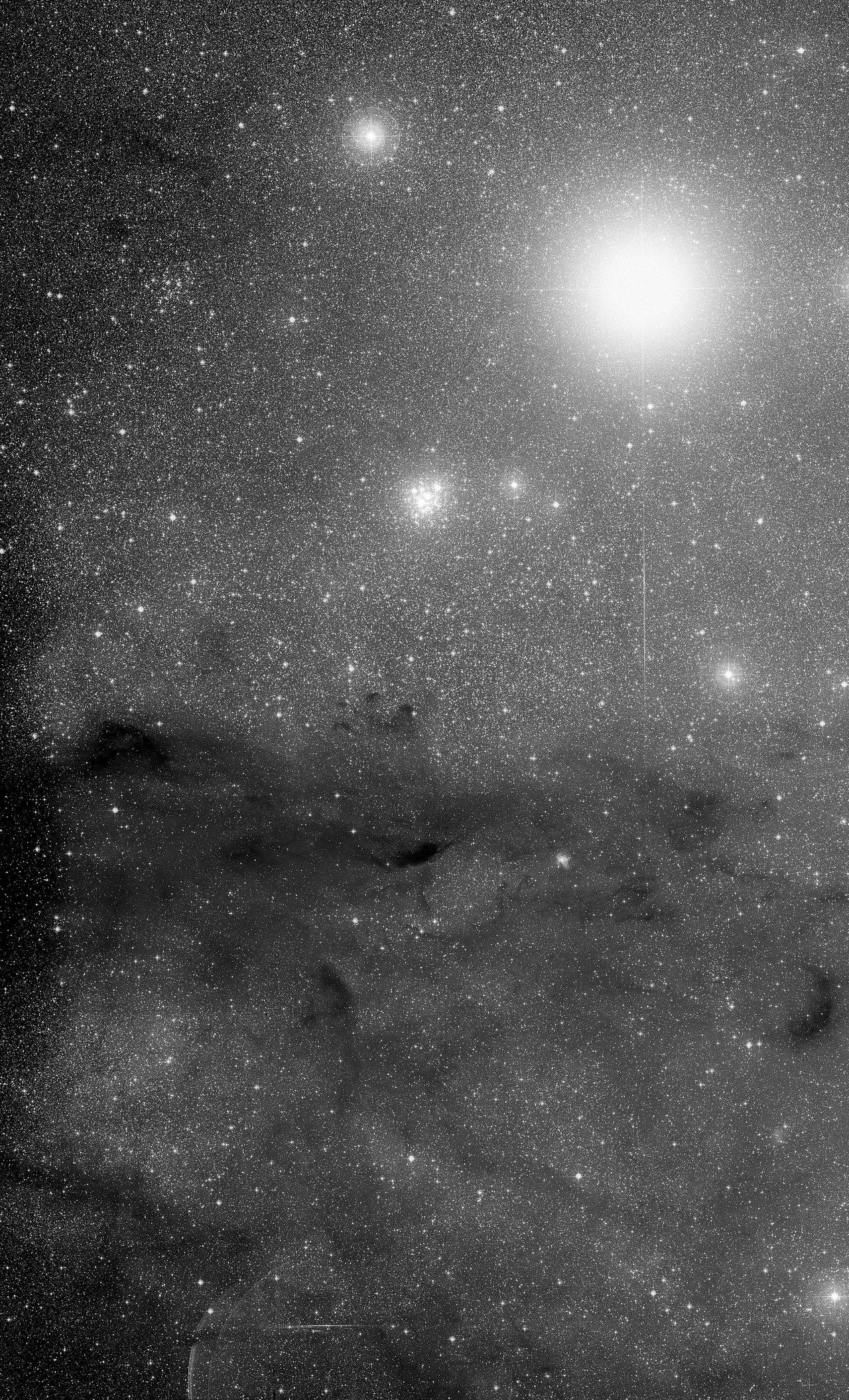The Jewel Box cluster and the Coalsack Nebula
