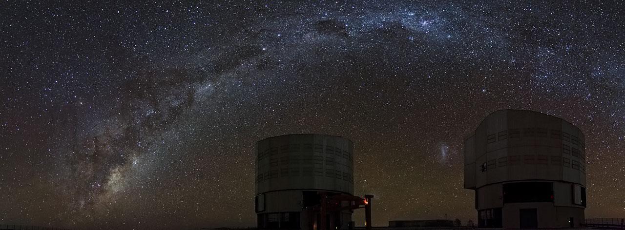 Le Very Large Telescope de l'ESO