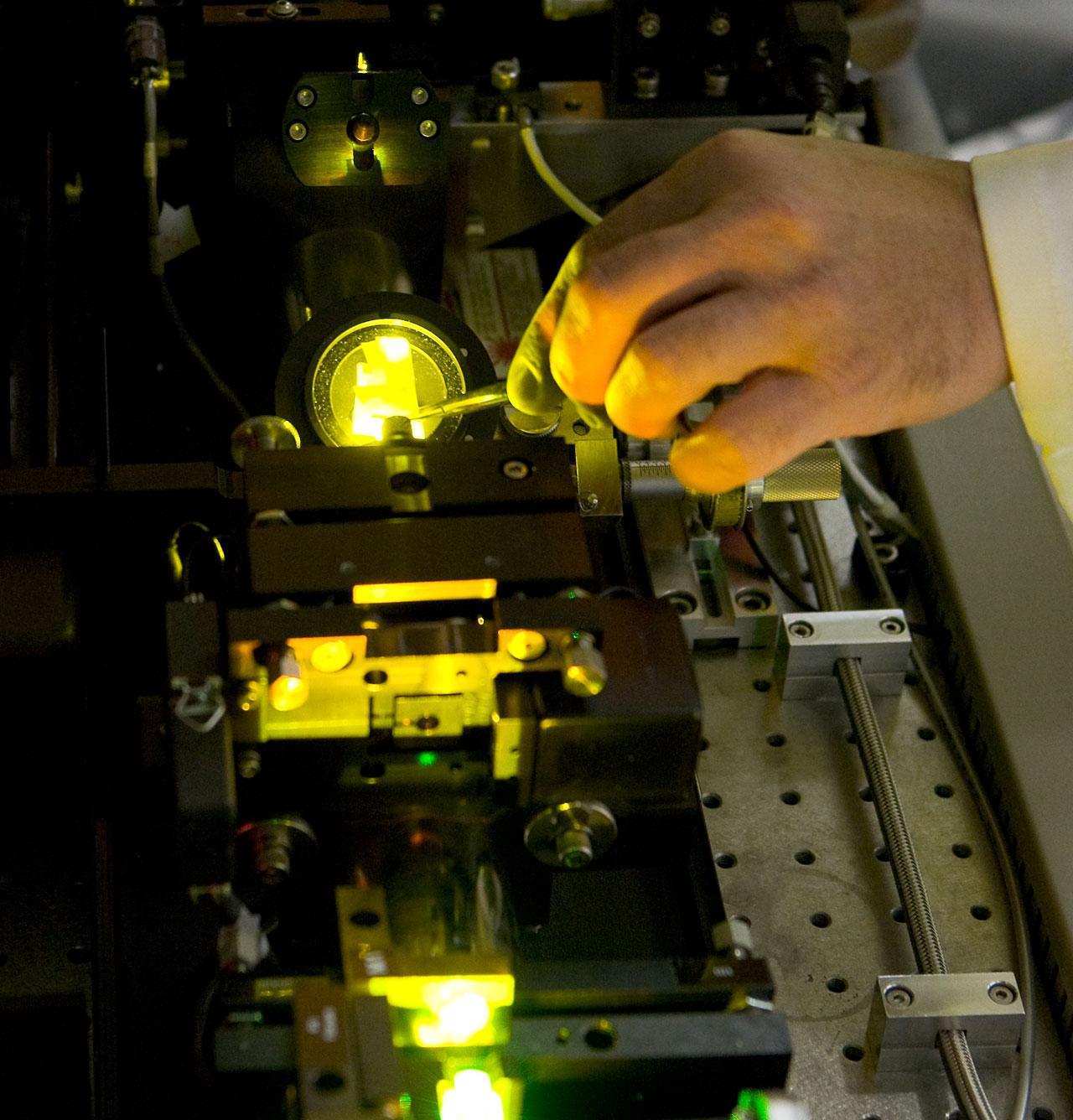 Laser at VLT