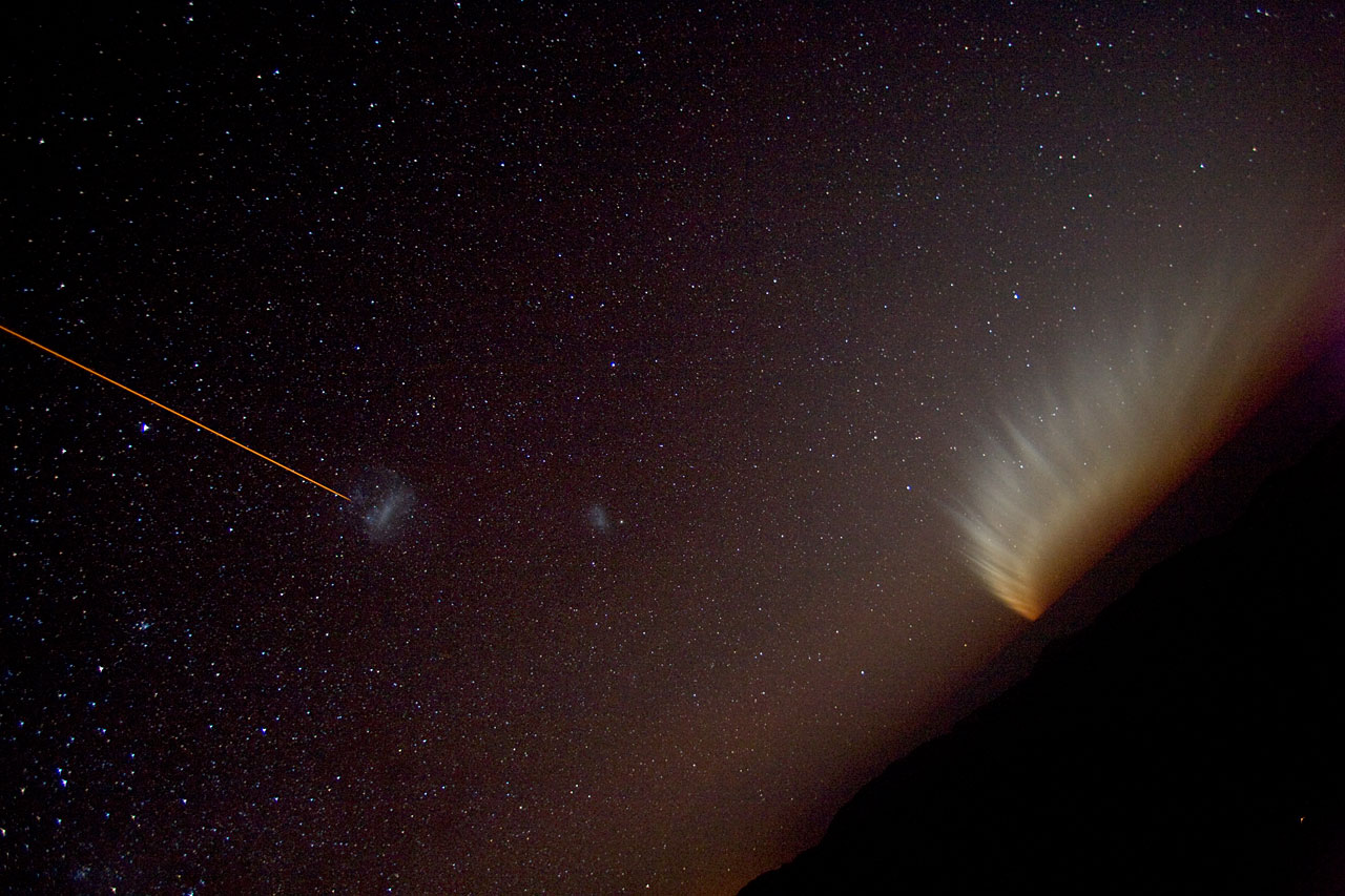 LGSF, the Magellanic Clouds and comet McNaught