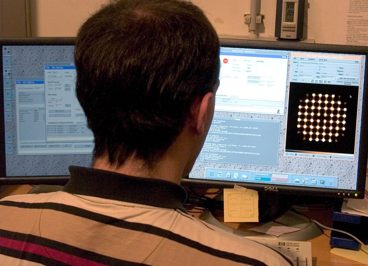 Multi-Conjugate Adaptive Optics Demonstrator (MAD) Control
