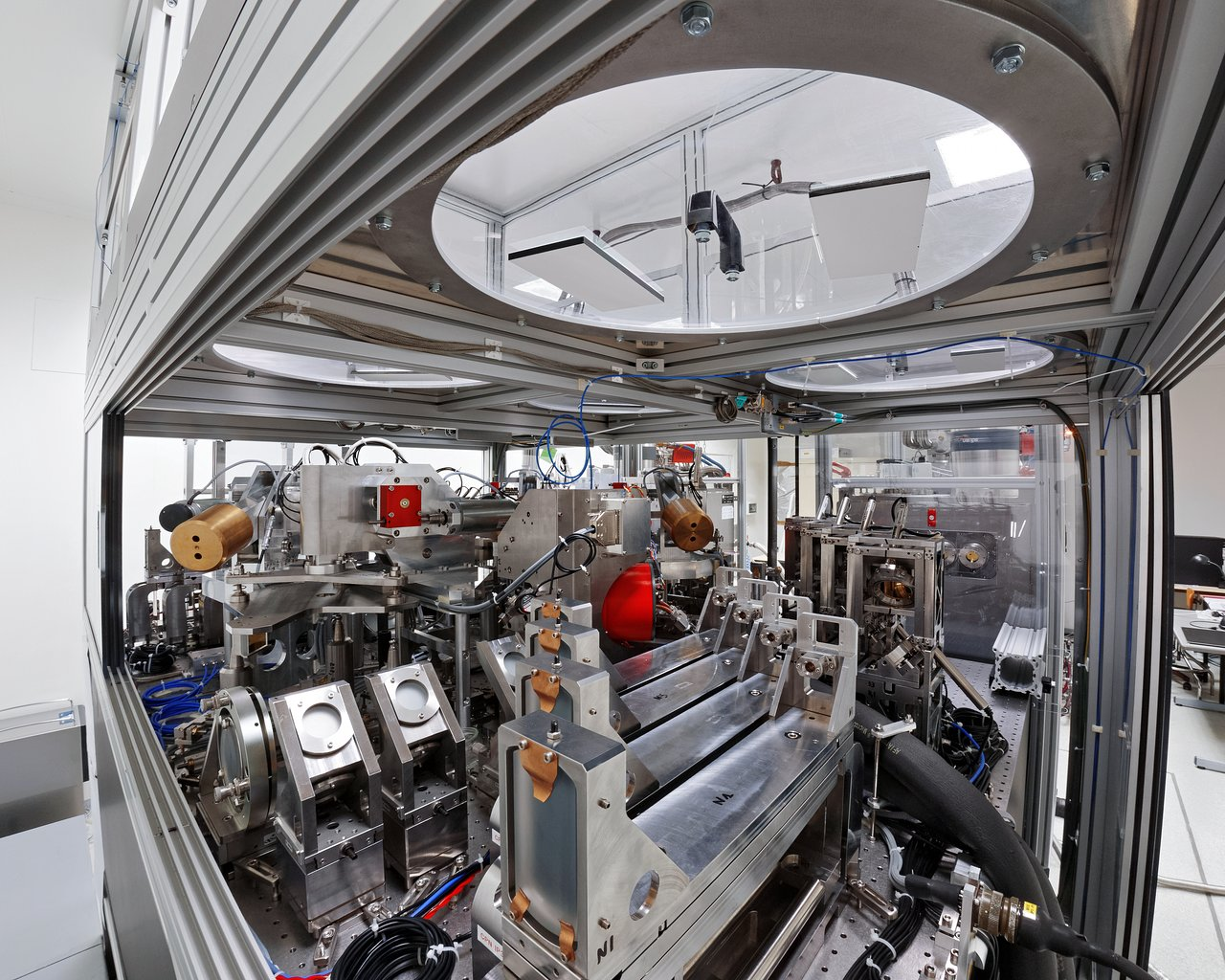 Next Generation Vlti Instrument Matisse Heads For Paranal Eso Book Wiring Observation Room Experiment