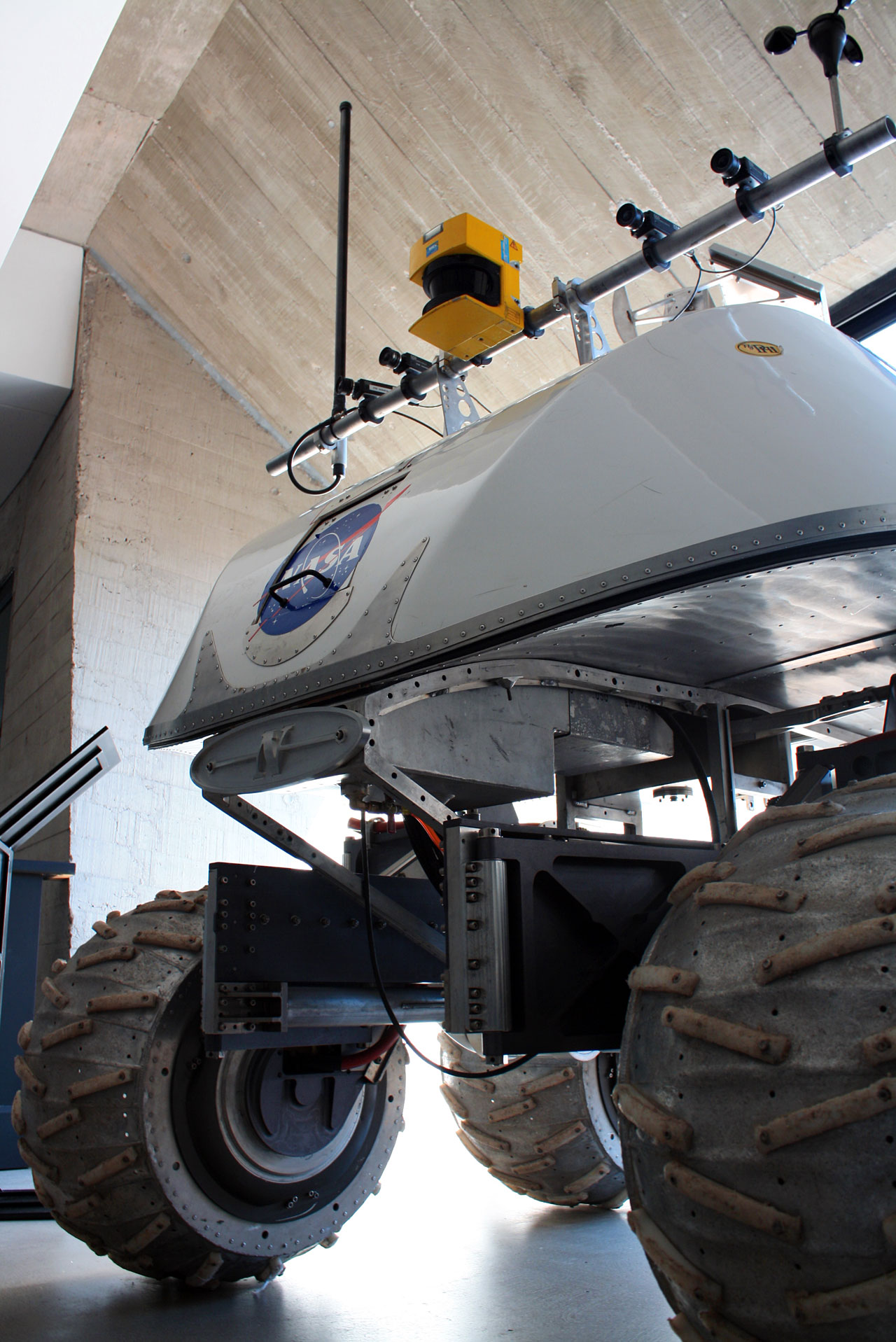 Mars Rover prototype at the Museum of the Atacama Desert