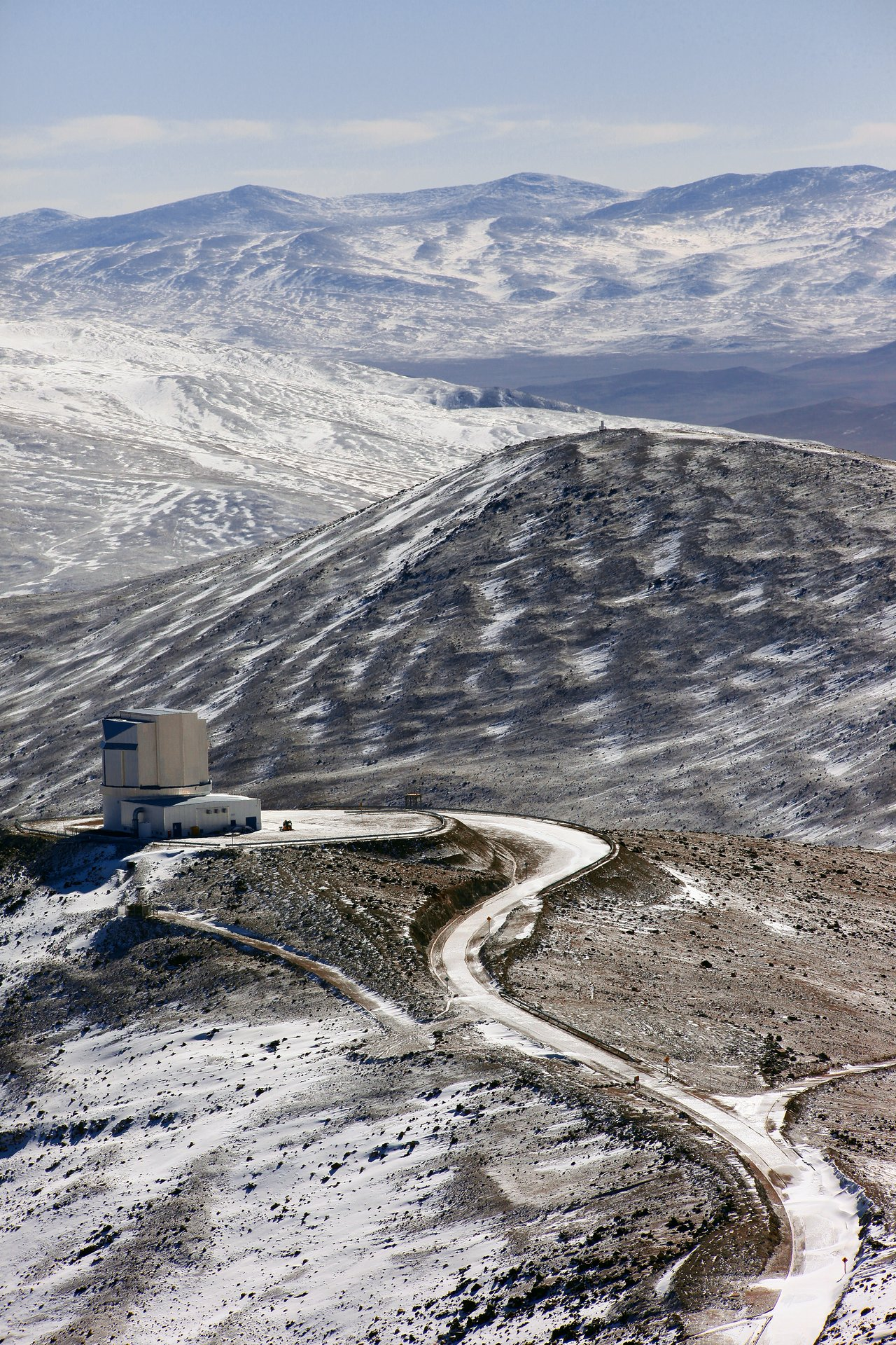 Winter view over VISTA