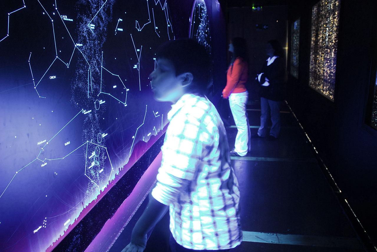 'Universo' Exposición del Museo Interactivo Mirador