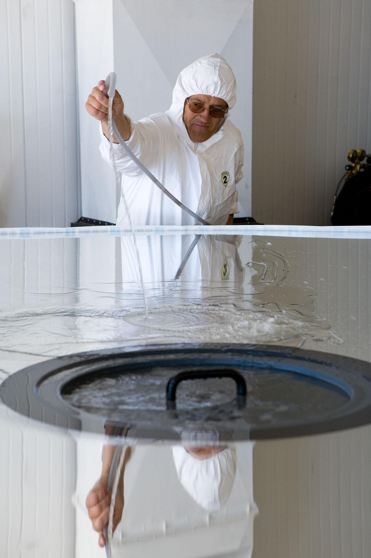 Washing NTT M1 mirror
