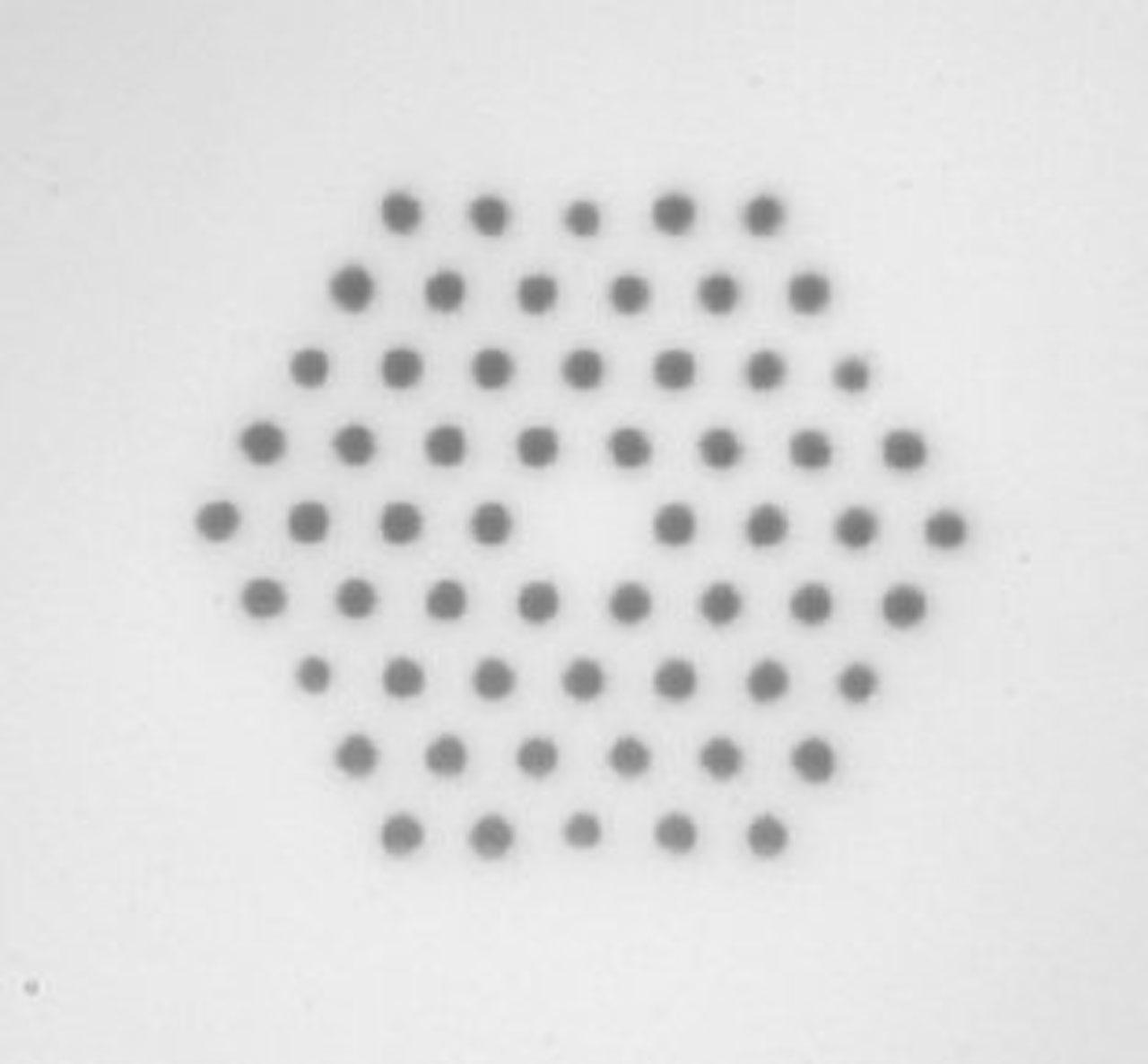 Photonic crystal optical fibres