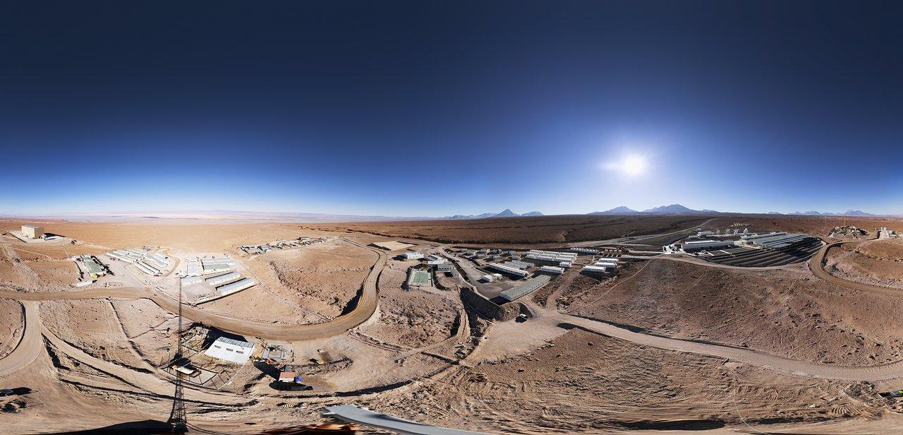 Panorama of the ALMA OSF