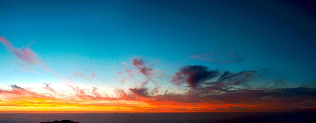 Fiery Sunset over Paranal