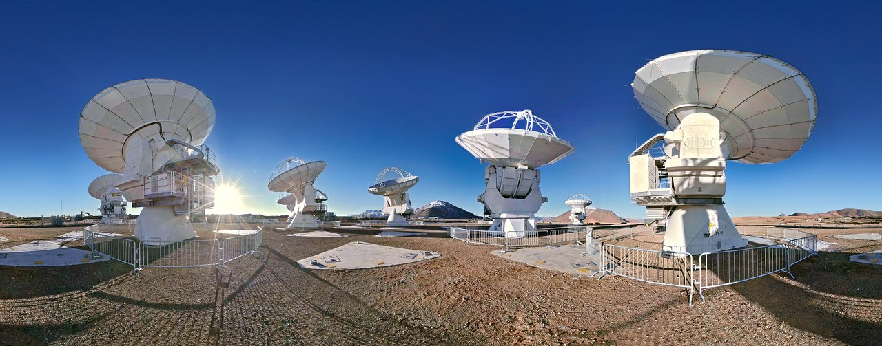 ALMA 360 degree panorama