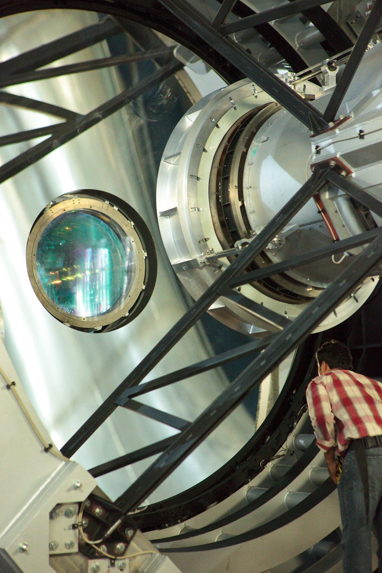 Installation of the VISTA Camera