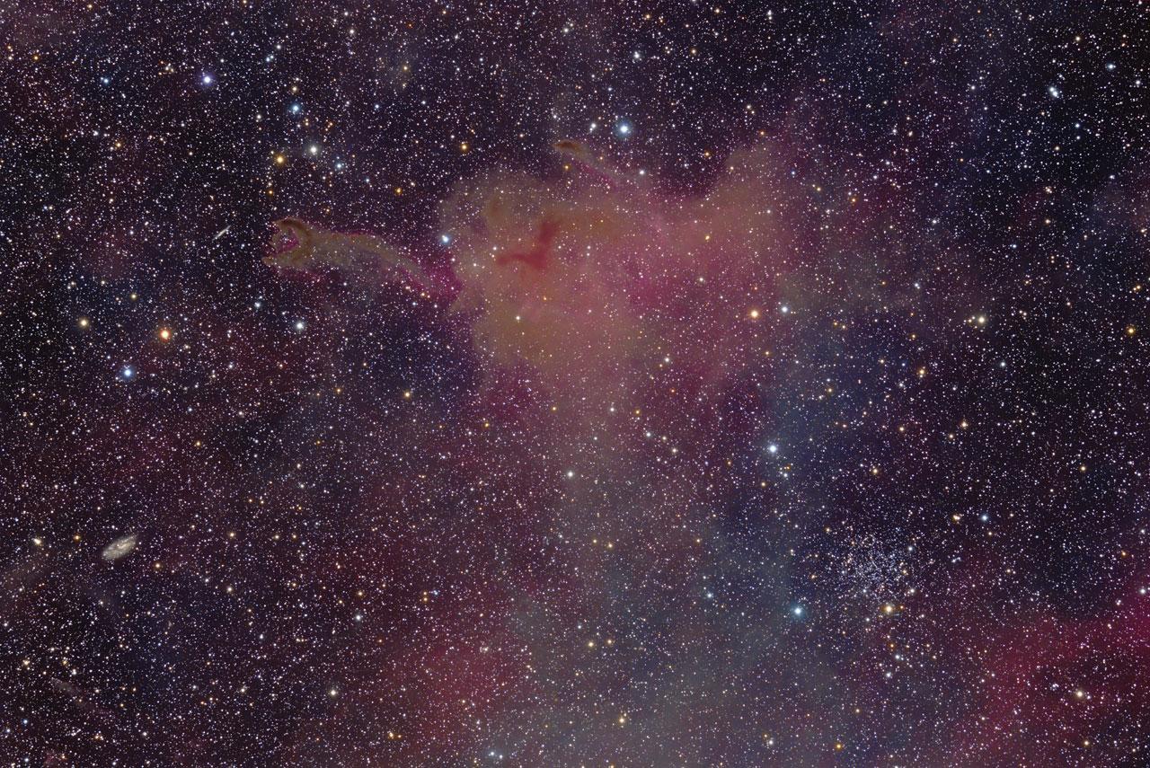 Cometary Globule CG4
