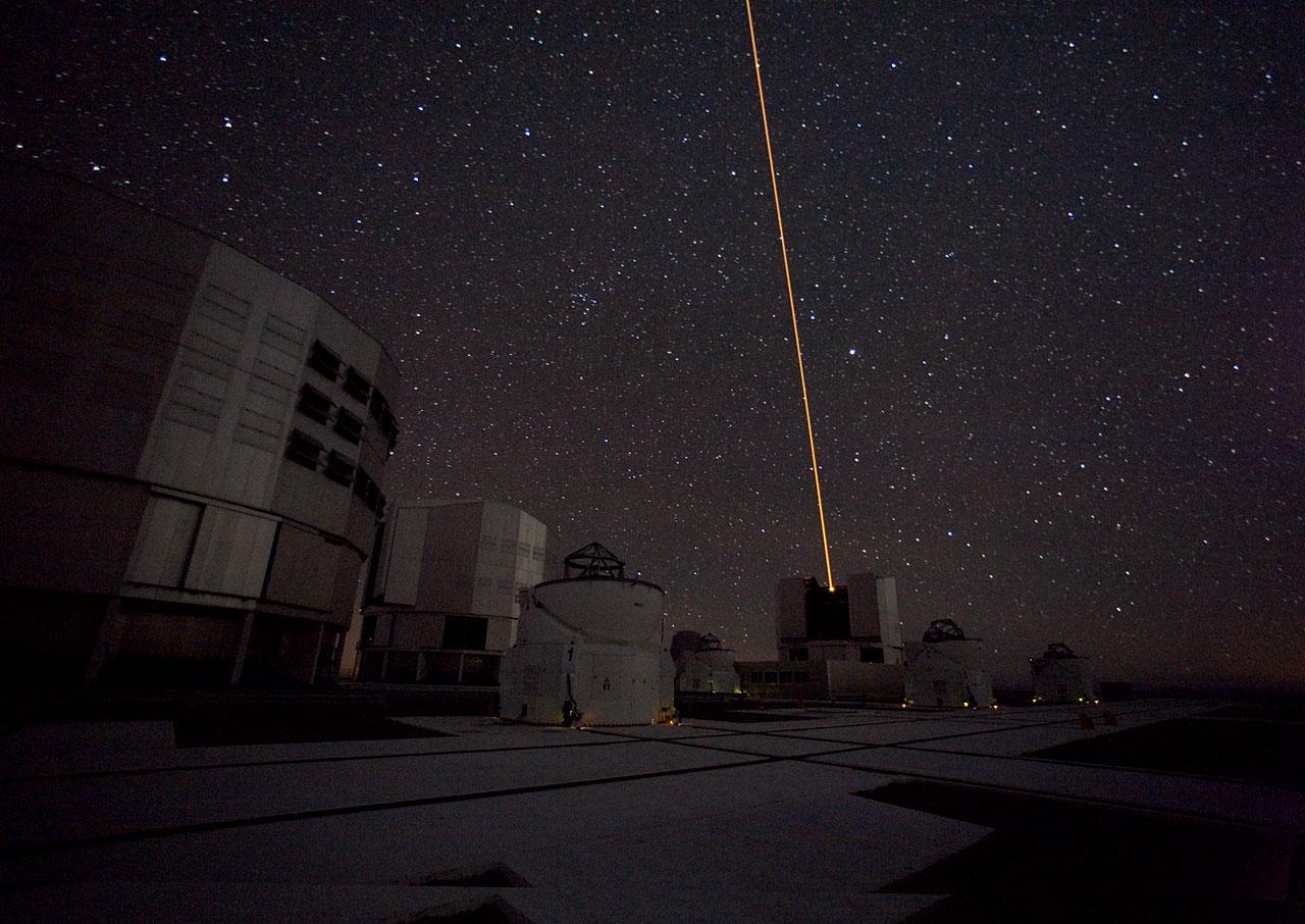 The Laser Guide Star on the VLT