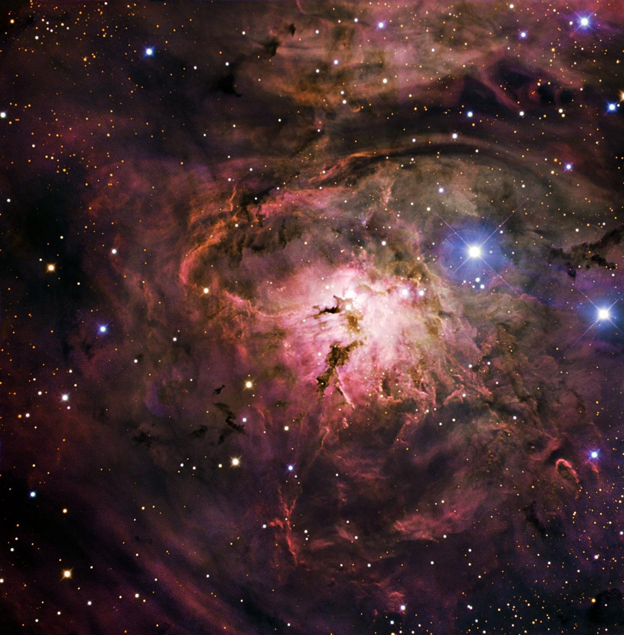 The Glow of the Lagoon Nebula