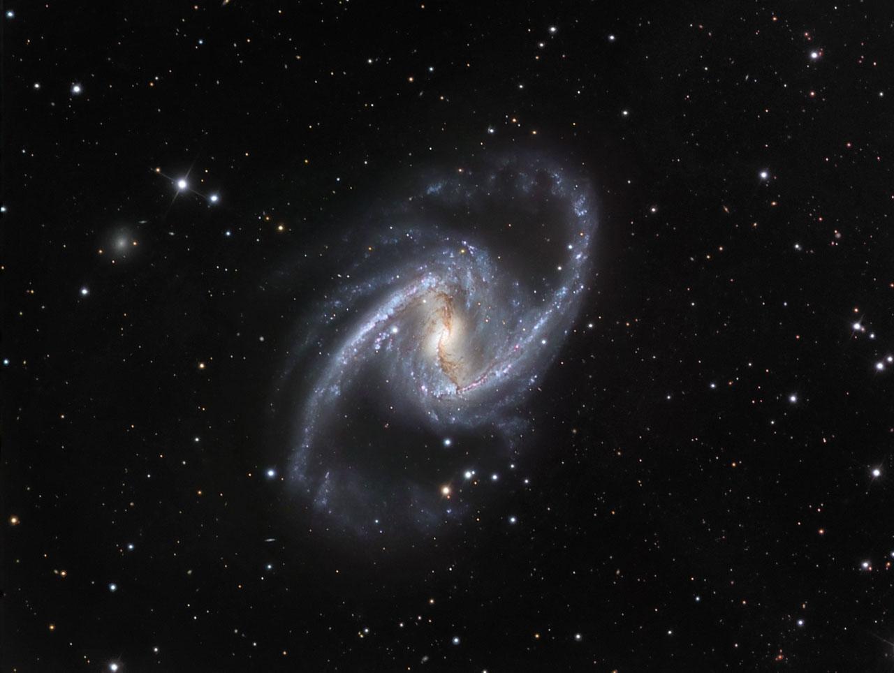 La gran galaxia espiral barrada
