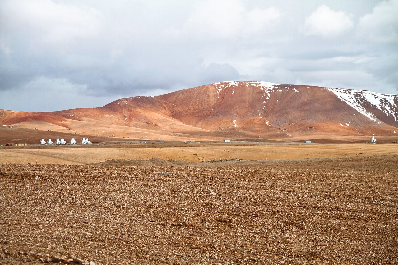 ALMA Antennas Reach Double Digits at Chajnantor