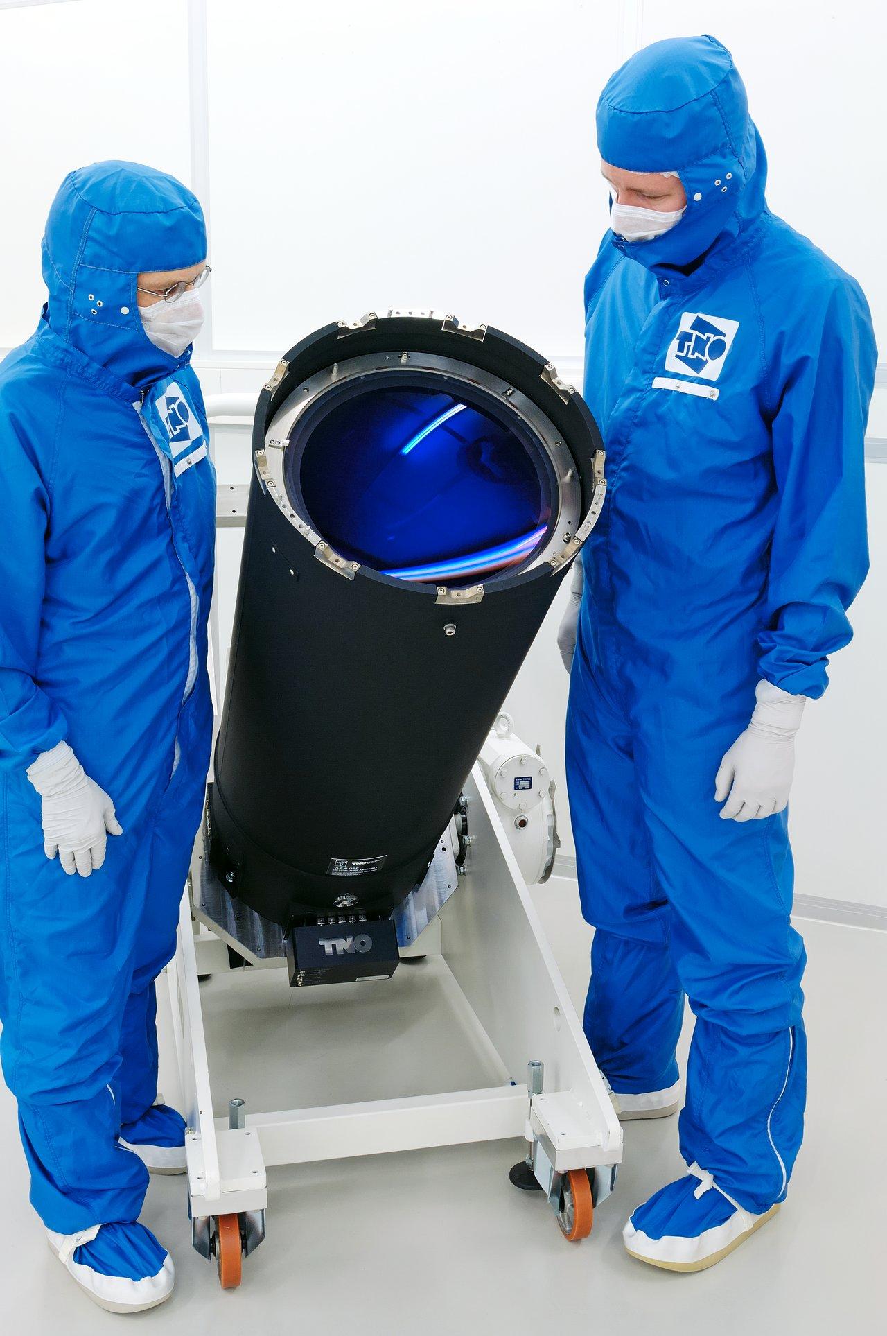 El Telescopio del VLT de próxima generación para Lanzamiento de Láser