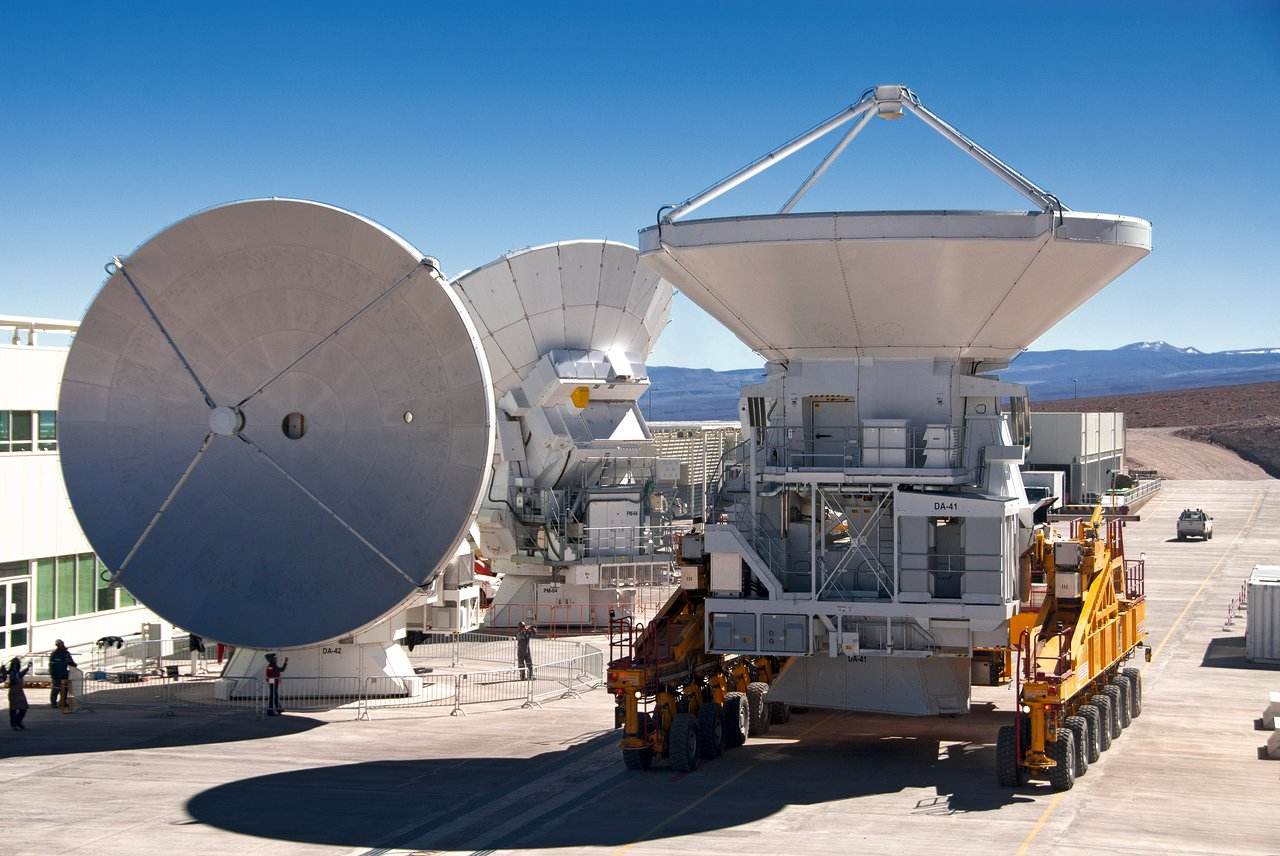 ALMA's Grand Antennas