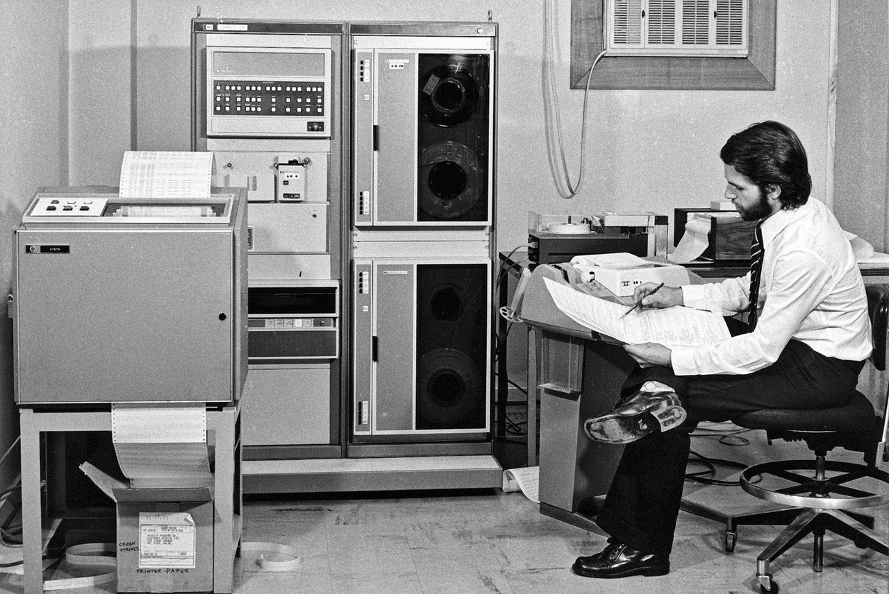 Elektronische Datenverarbeitung bei der ESO im Wandel der Zeit
