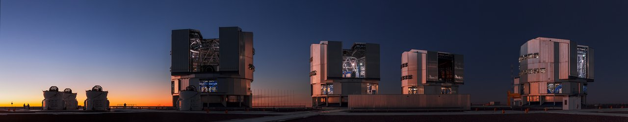 Mounted image 161: Paranal Panorama at Twilight
