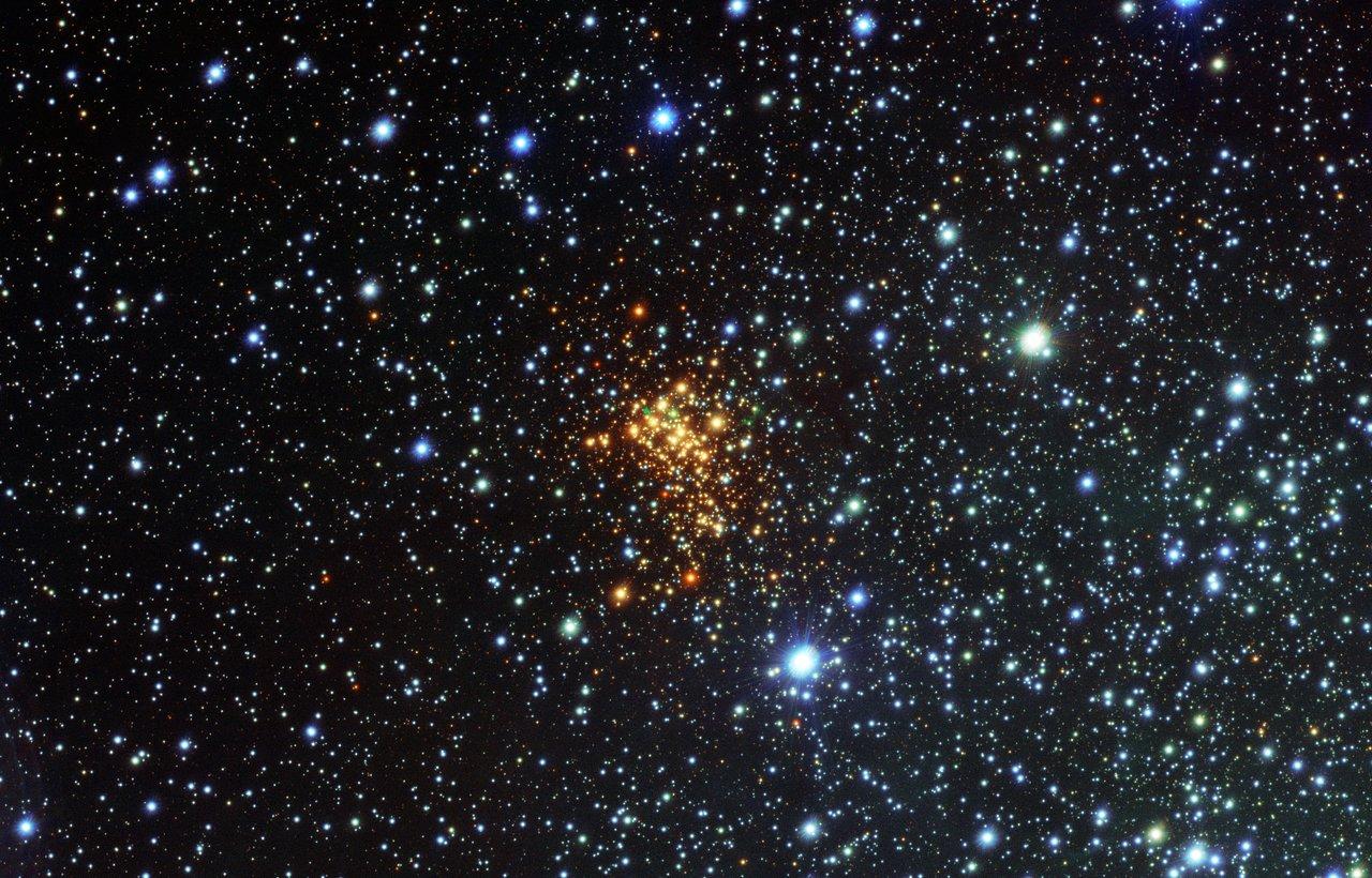Überraschende Wolke um einen riesigen Stern