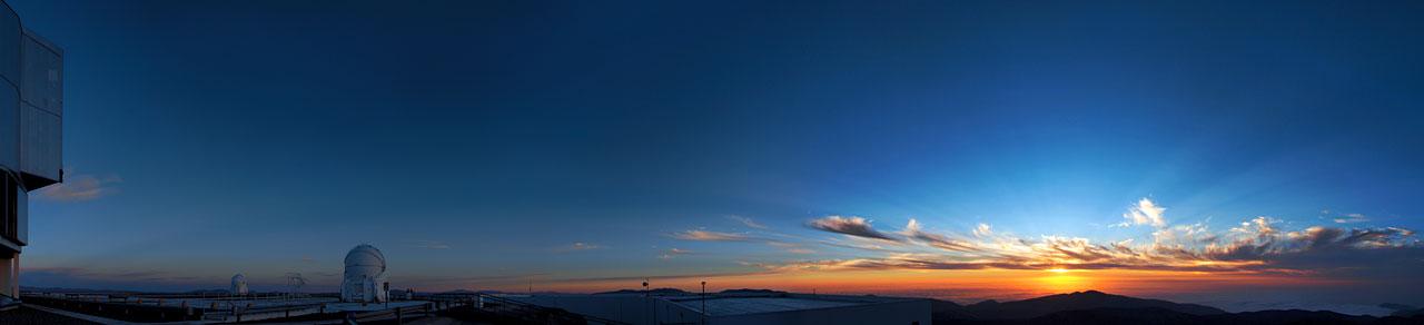 Impresionismus: západ Slunce