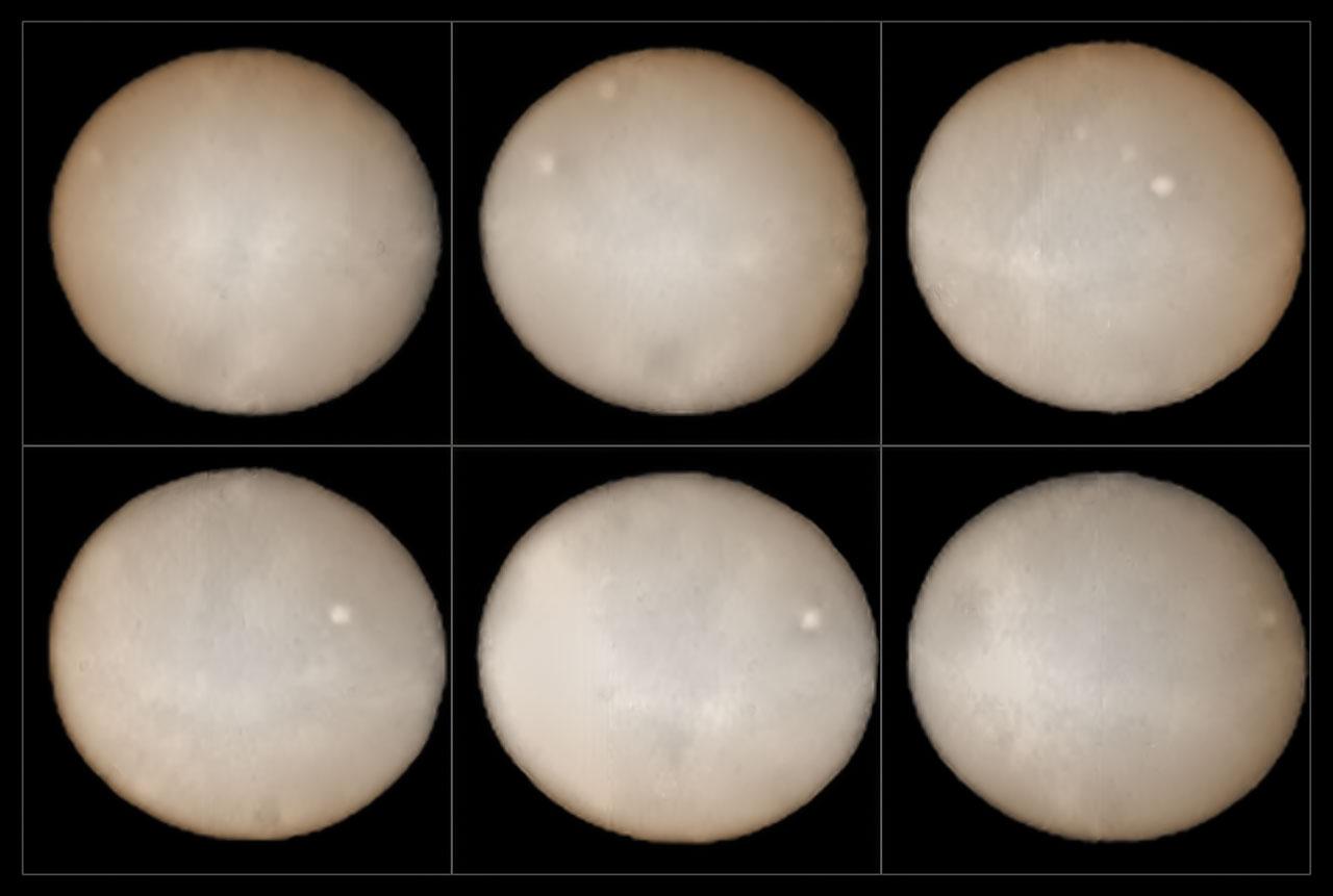 SPHERE mapeia a superfície de Ceres