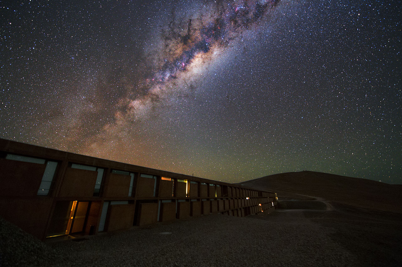 At home in the Milky Way