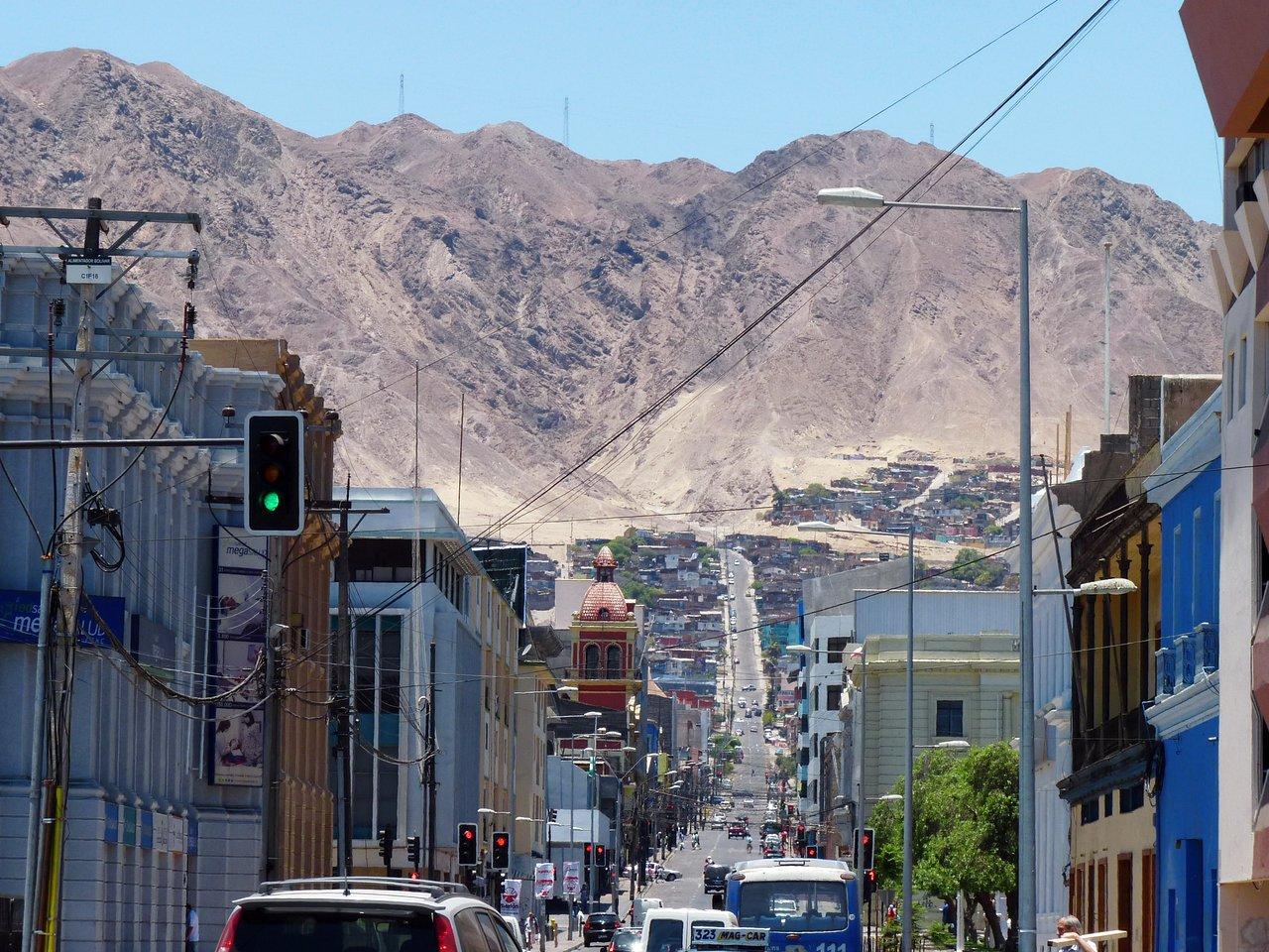 A main street in Antofagasta