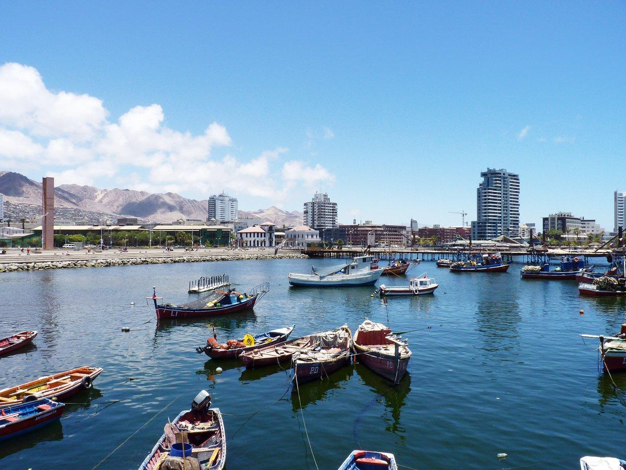 """""""Caleta de Pescadores""""  in Antofagasta"""