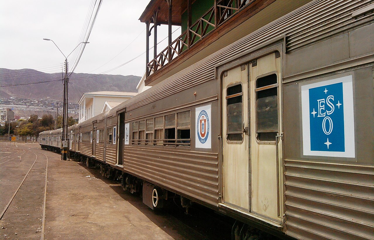 The Science Train in Antofagasta