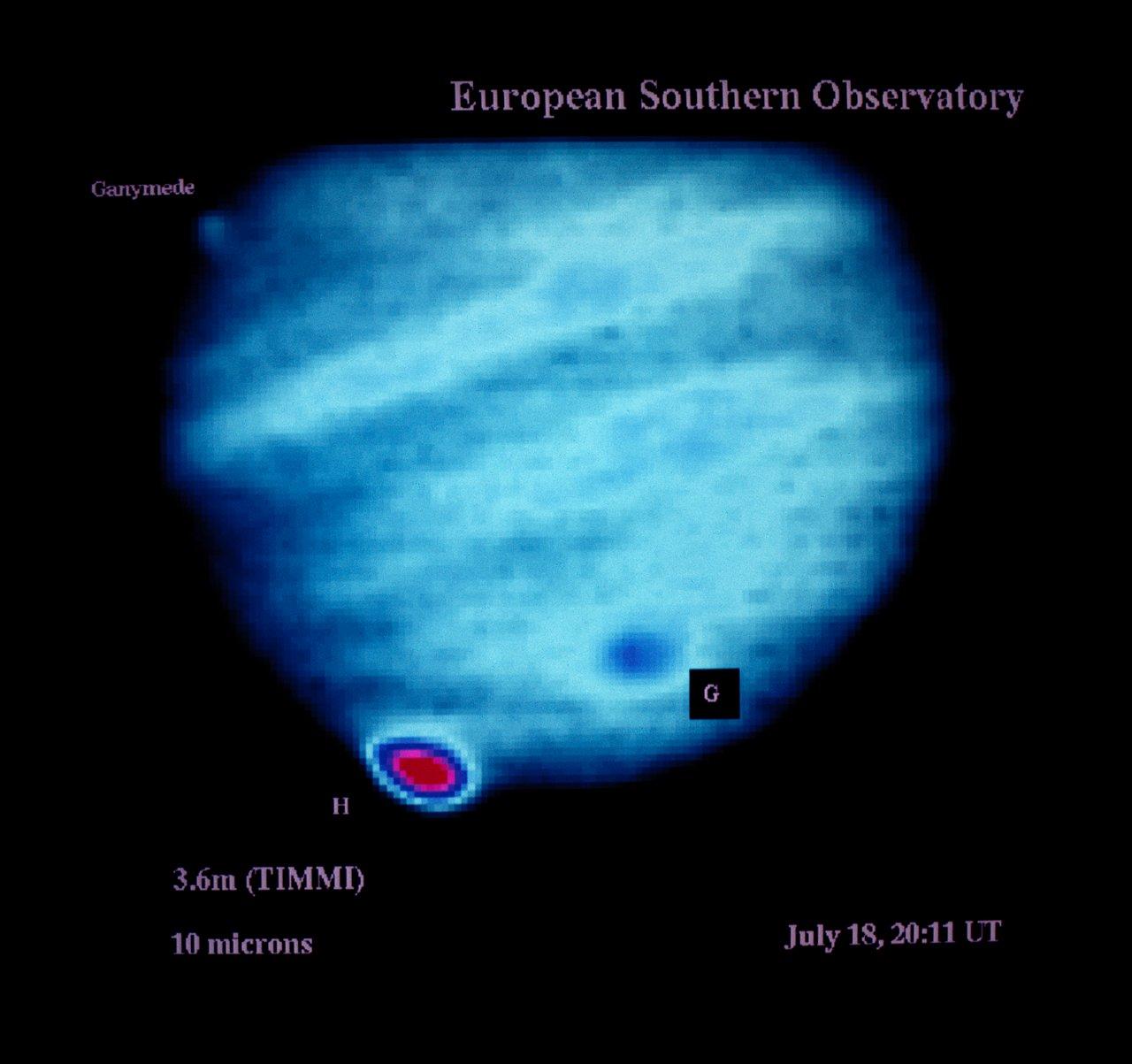 Comet Shoemaker–Levy 9 observations