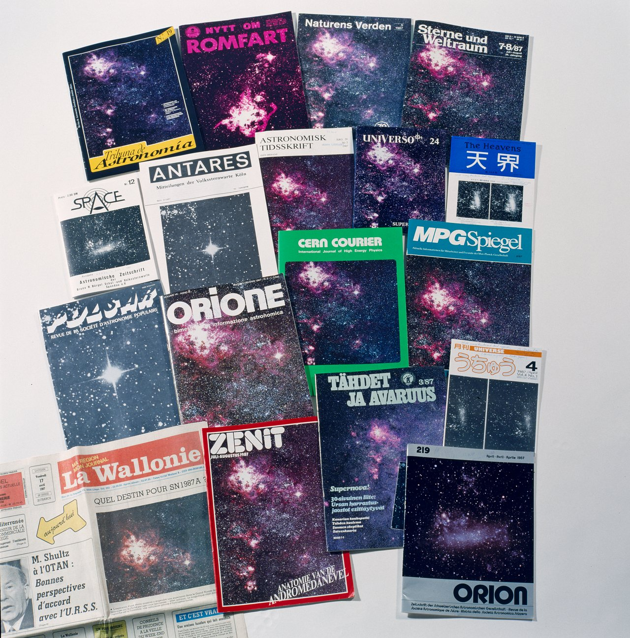 SN1987a in the Press
