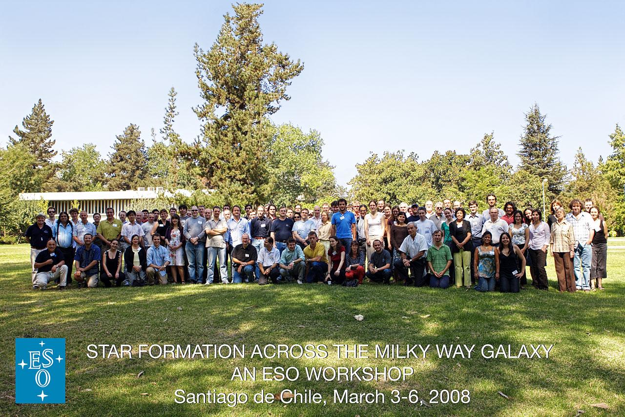 ESO workshop: Star Formation across the Milky Way Galaxy
