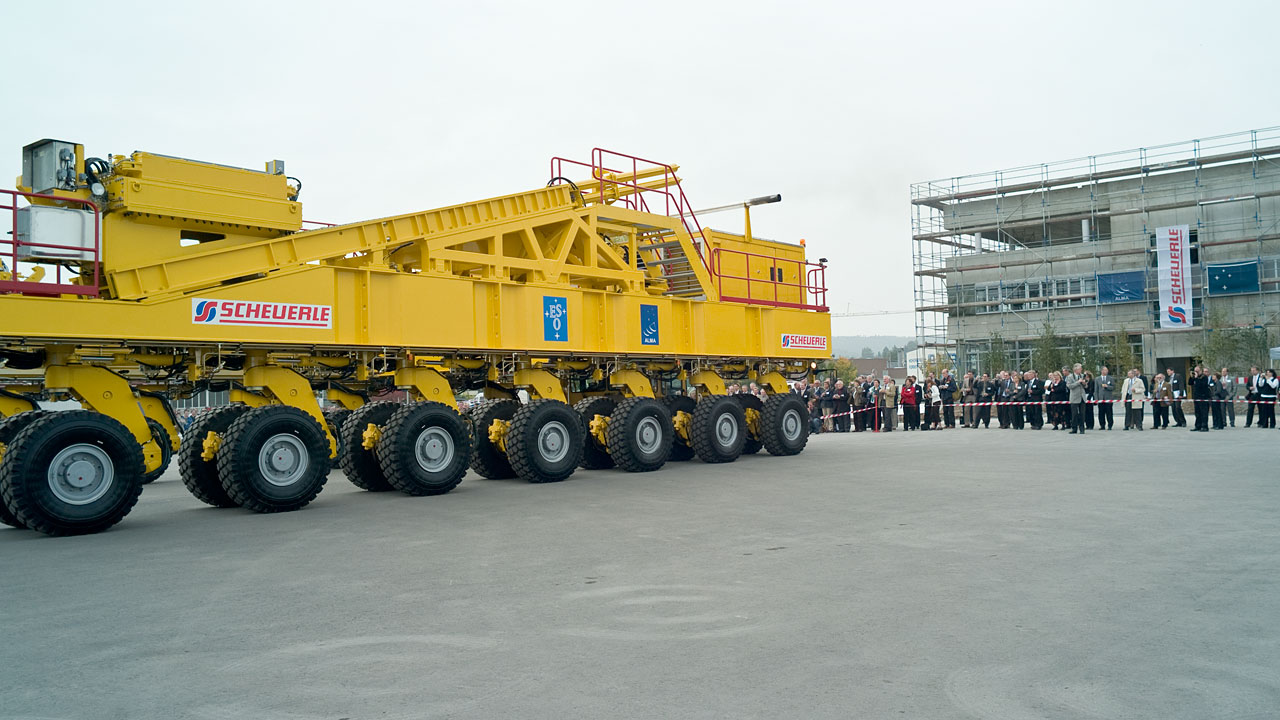 ALMA Transporter Opening Ceremony