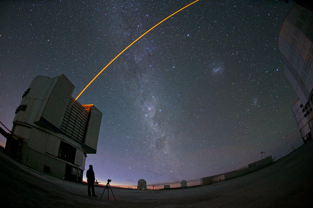 VLT's Adaptive Optics at work