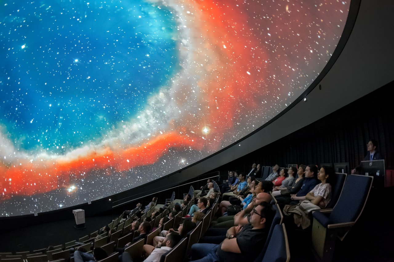Planetarium Shows Available For Booking Until The End Of 2019 Eso Belgie