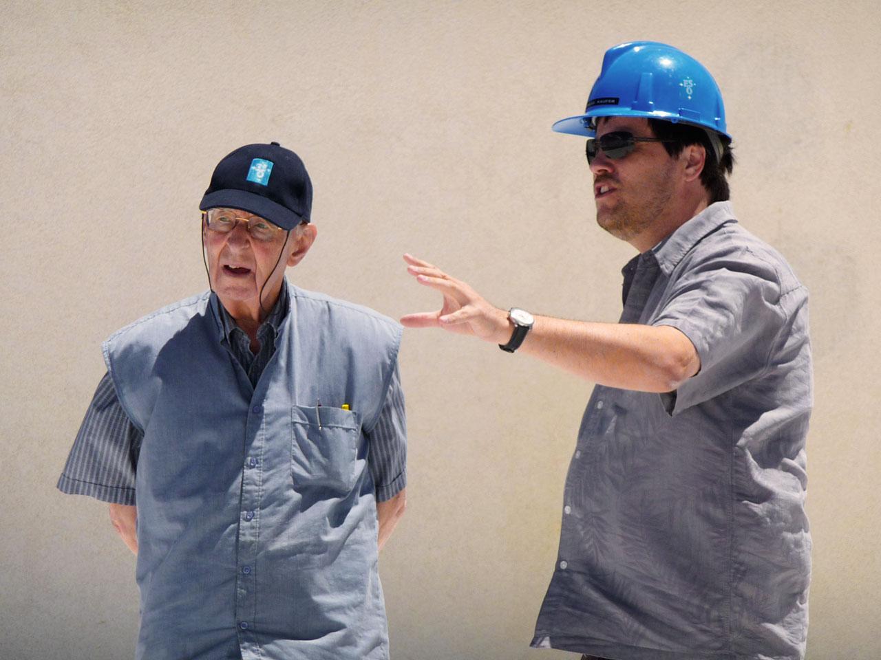 Prof. Adriaan Blaauw visits Paranal Observatory
