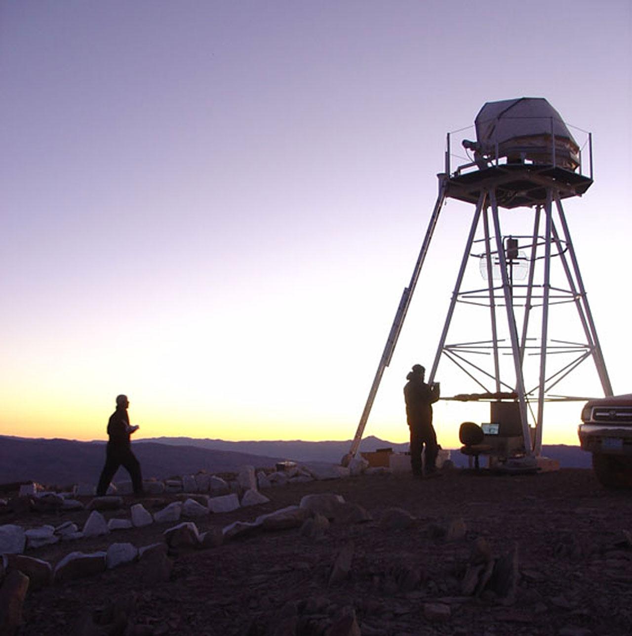 E-ELT site testing - Cerro Ventarrones / Chile