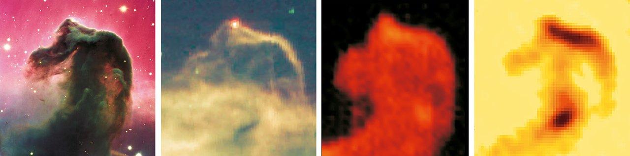 Views of the Horsehead Nebula