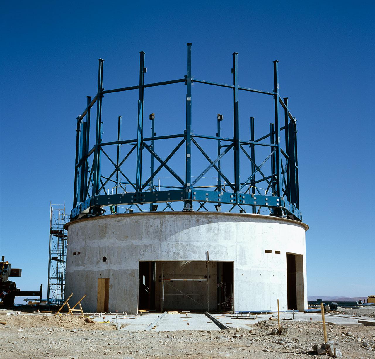 VISTA under construction