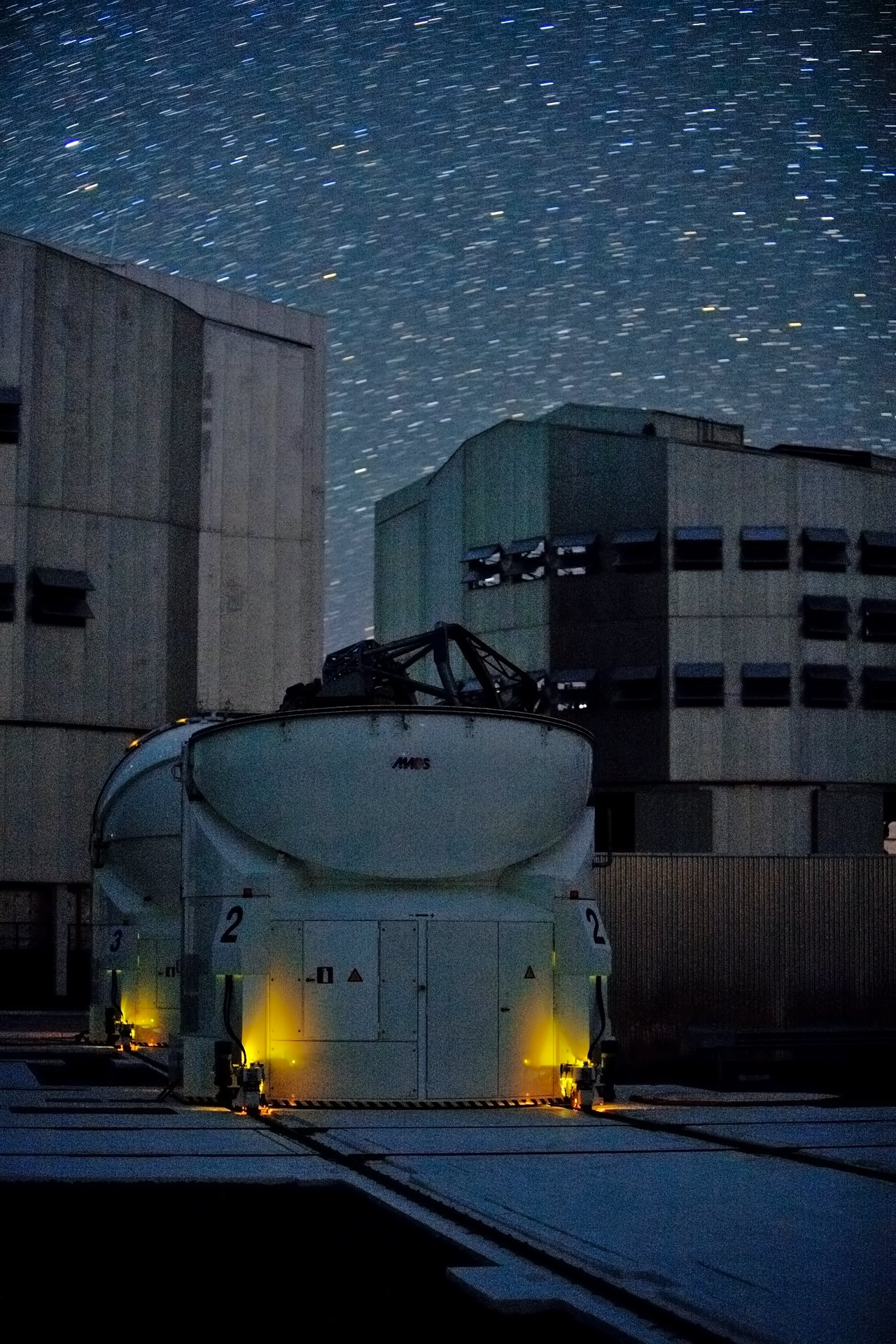 The first two Auxiliary Telescopes at the VLT Platform