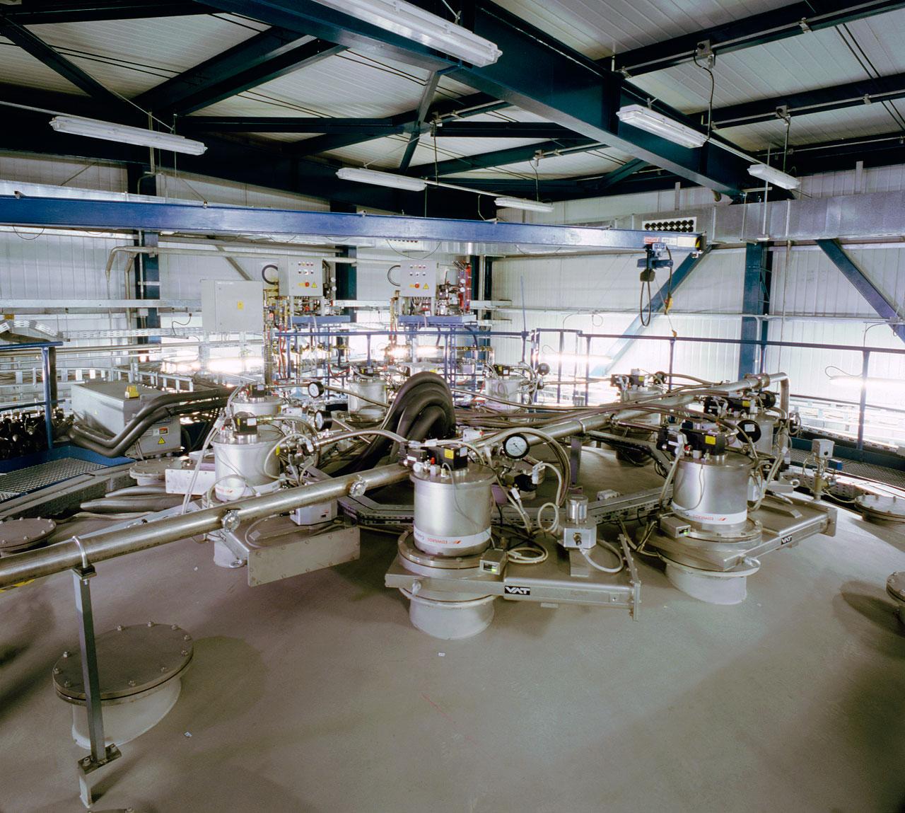 VLT Mirror Coating Plant