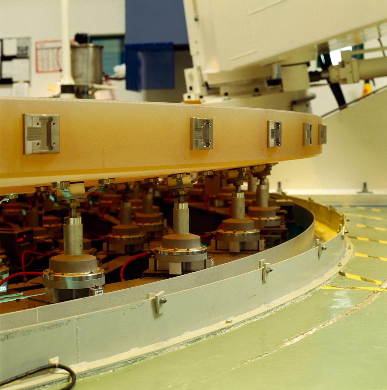 Active Optics for the VLT Mirrror
